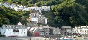 Clovelly from the Atlantic